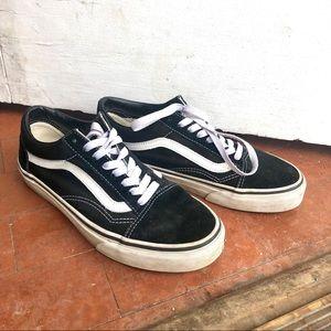 Black Old Skool Vans